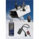 Macchina neve PARTY SNOW 600W +  liquido neve+ 1 telecomando+ comando con filo