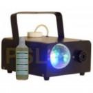 Macchina del fumo con effetto luce a LED colorati rotante- Party Fog Light Beam+1 Flacone di liquido fumo in omaggio