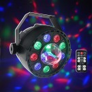 LED CRYSTAL MOON 9/3 W-RGB FULL COLOUR+DIAMOND LIGHT