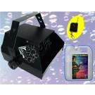 Happy Bubble -- Macchina  Bolle di sapone con Radio Comando +  1 flacone di liquido bolle in omaggio