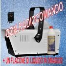Macchina neve PRO SNOW  1500W  con RADIOMANDO+1 FLACONE DI LIQUIDO IN OMAGGIO