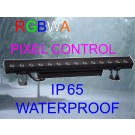 RAIN STRIP LED 14/15W  RGBWA IP 65 PIXEL CONTROL