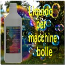 Flacone  di Liquido Bolle--  Bubble Fluid Mini-