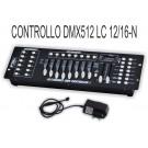 LC 12-16-N DMX  CENTRALINA  DI CONTROLLO PROGRAMMABILE