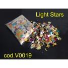CORIANDOLI- Light Stars (METALLIZZATI E DI VARIE FIGURE)
