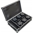 --FLIGHT CASE PER BAT LED 6X18 RGBWA+UV