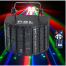 Effetto Luce - LED DERBY LIGHT MULTICOLOUR DMX+ RADIOCONTROLLO