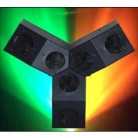Effetto Luce - Disco LED SHAKER DMX con  RADIOCONTROLLO