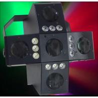 Effetto Luce - Disco LED RADIANT DMX con  RADIOCONTROLLO