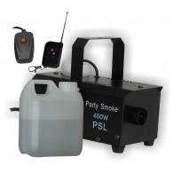 -----Macchina del fumo PARTY SMOKE con RADIOCOMANDO e  con liquido in omaggio( come da foto)