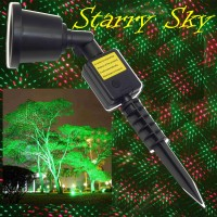 Proiettore  Led Stelle di Natale per esterno STARRY SKY