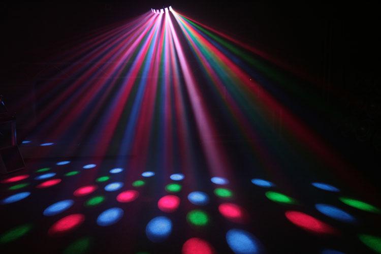 luci psichedeliche effetto sfere